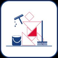 Manuelle Reinigungsgeräte